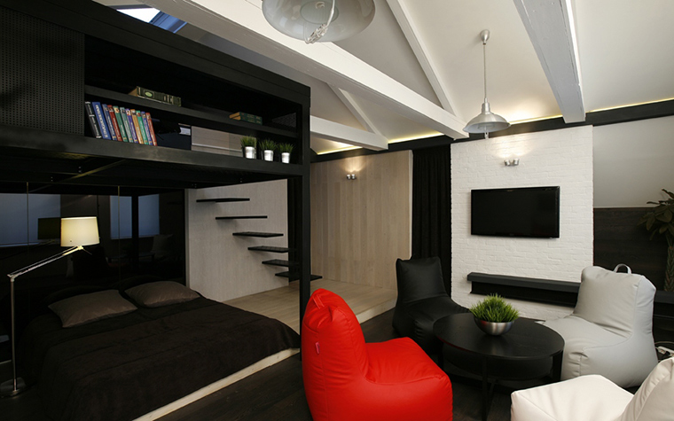 Перепад высоты пола в дизайне интерьера