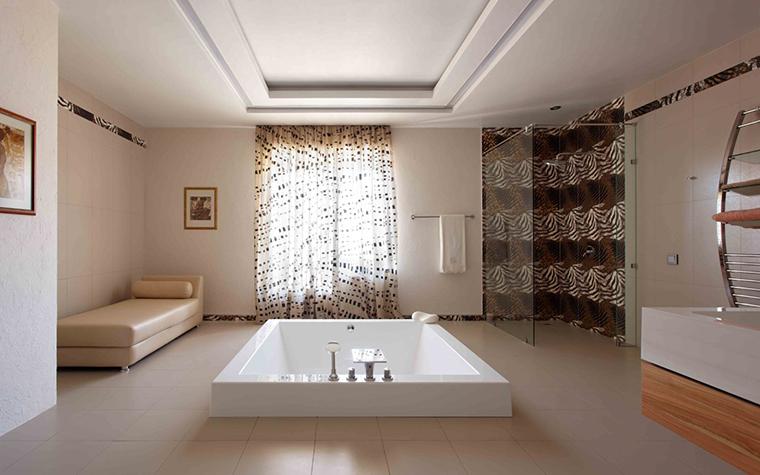 Загородный дом. ванная из проекта , фото №25797