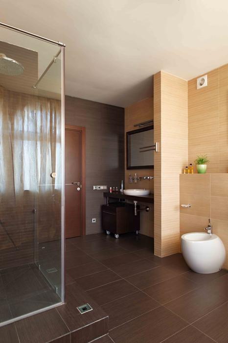 Фото № 25800 ванная  Загородный дом