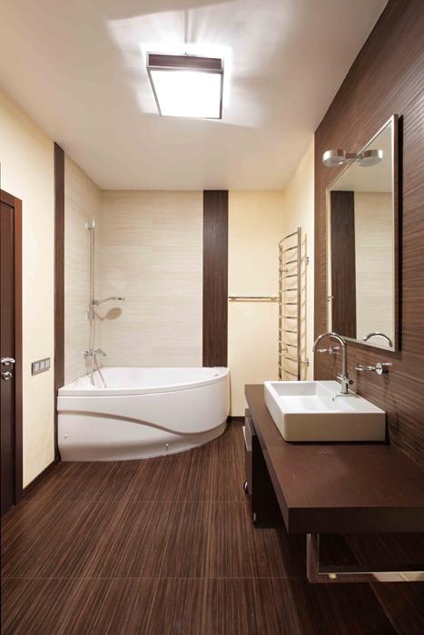 Загородный дом. ванная из проекта , фото №25799