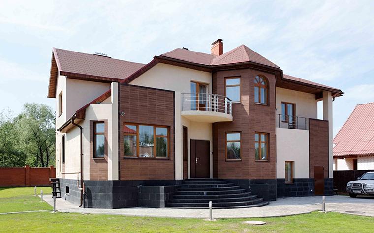 Загородный дом. фасад из проекта , фото №25786