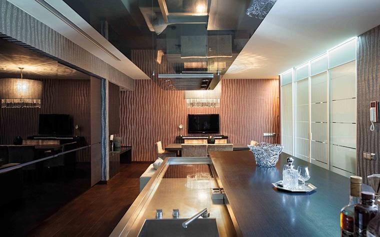 Загородный дом. кухня из проекта , фото №25790