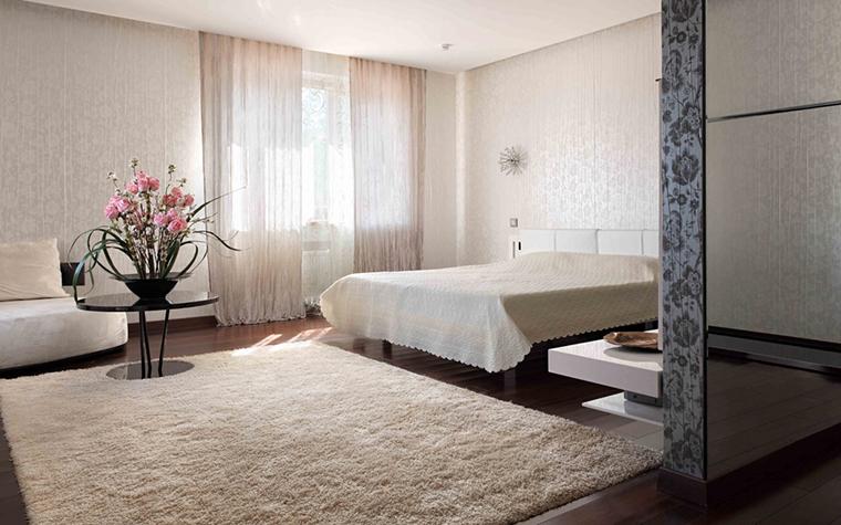 Загородный дом. спальня из проекта , фото №25794