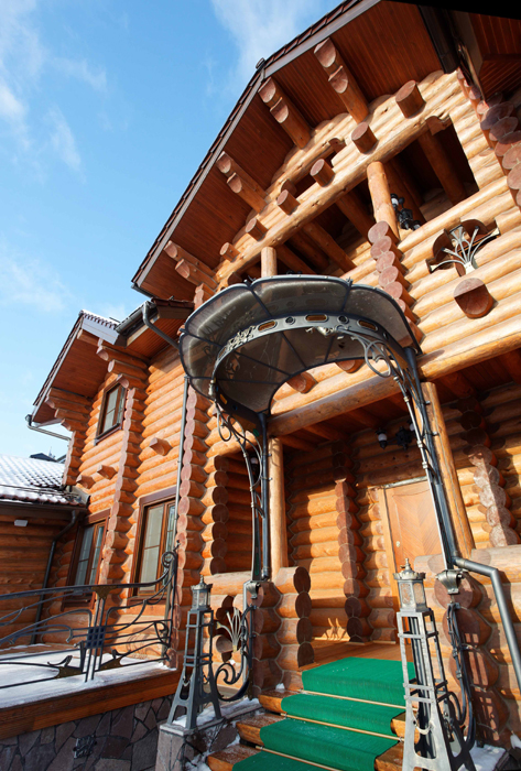 Загородный дом. фасад из проекта , фото №25827