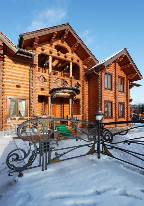 Загородный дом. фасад из проекта , фото №25829