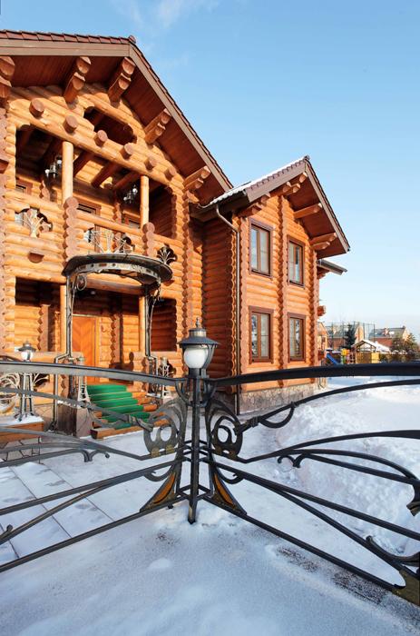 Загородный дом. фасад из проекта , фото №25830