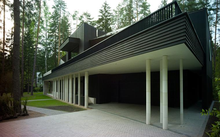 Загородный дом. фасад из проекта , фото №25937