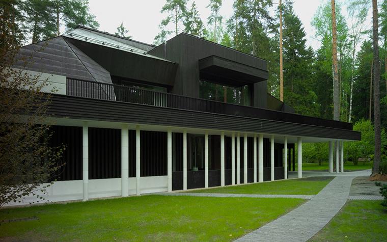 Загородный дом. фасад из проекта , фото №25938