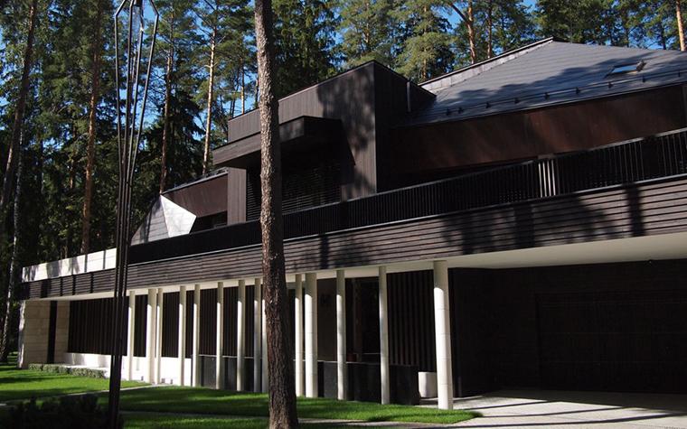 Загородный дом. фасад из проекта , фото №25947