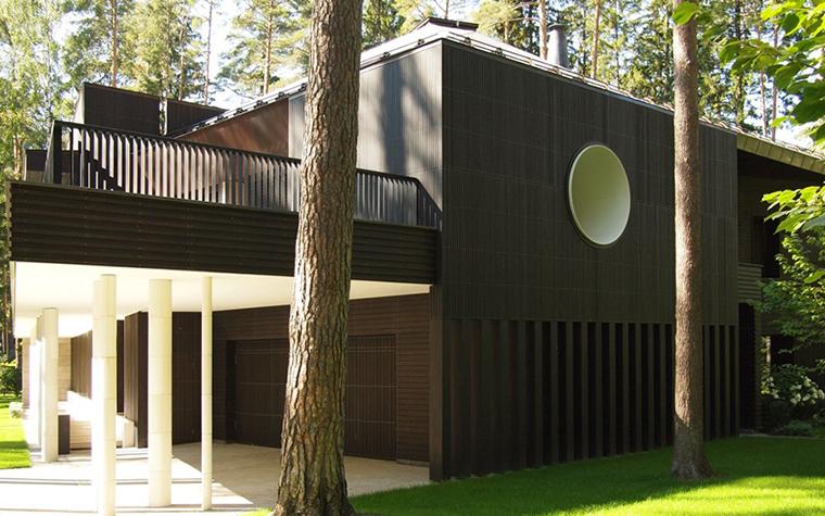 Загородный дом. фасад из проекта , фото №25952