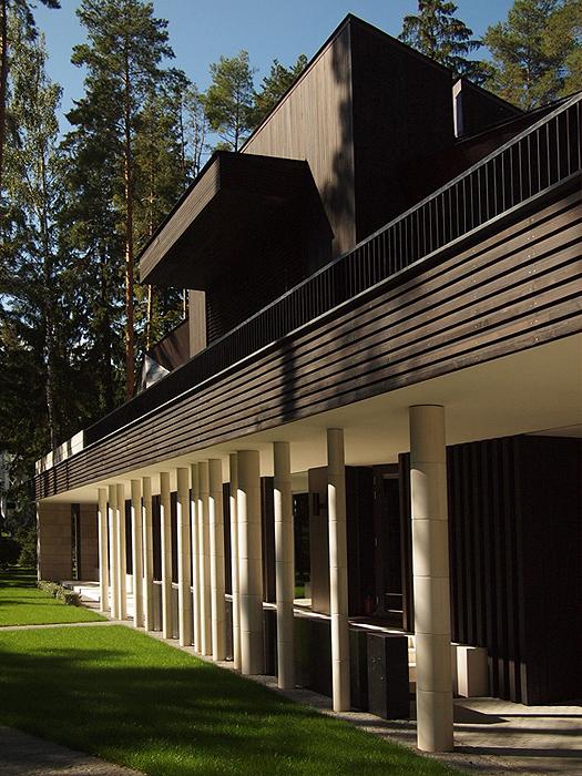 Загородный дом. фасад из проекта , фото №25948
