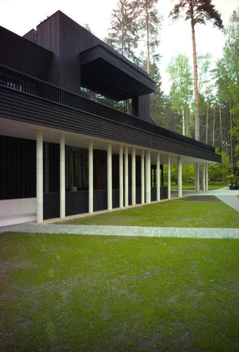 Загородный дом. фасад из проекта , фото №25939