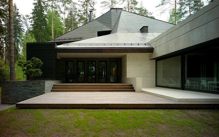 Загородный дом. фасад из проекта , фото №25940