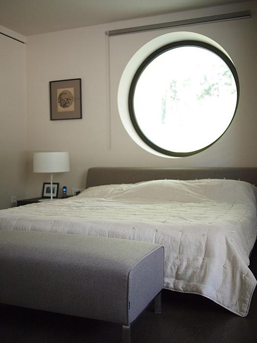Загородный дом. спальня из проекта , фото №25951