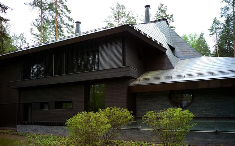 Загородный дом. фасад из проекта , фото №25942