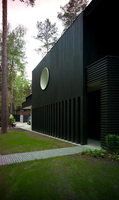 Загородный дом. фасад из проекта , фото №25943