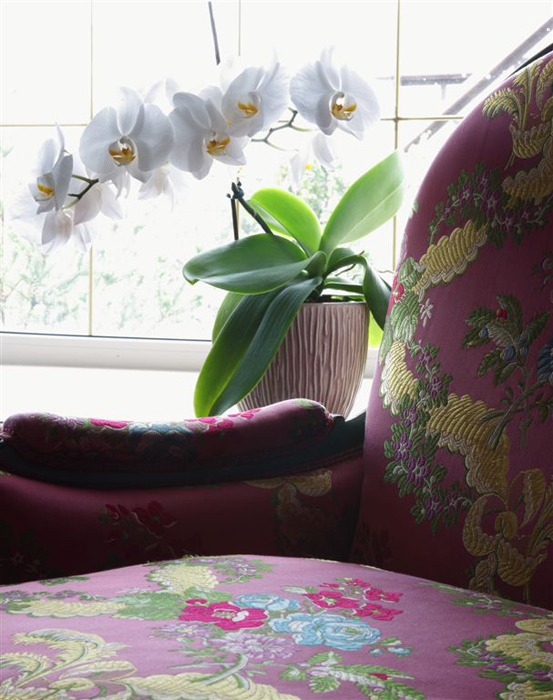 Фото № 26095 спальня  Загородный дом