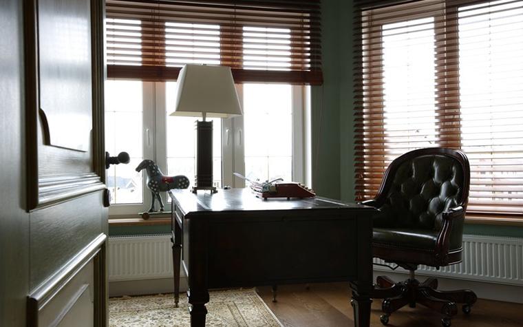 Фото № 26099 кабинет библиотека  Загородный дом