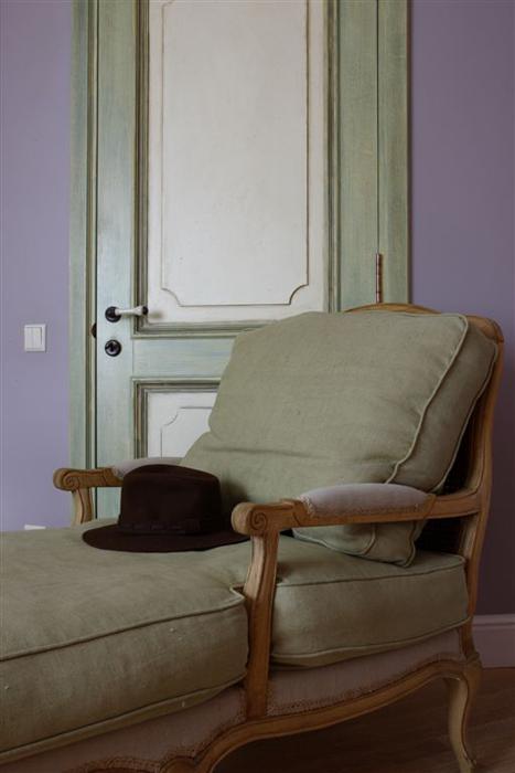 Фото № 26104 спальня  Загородный дом