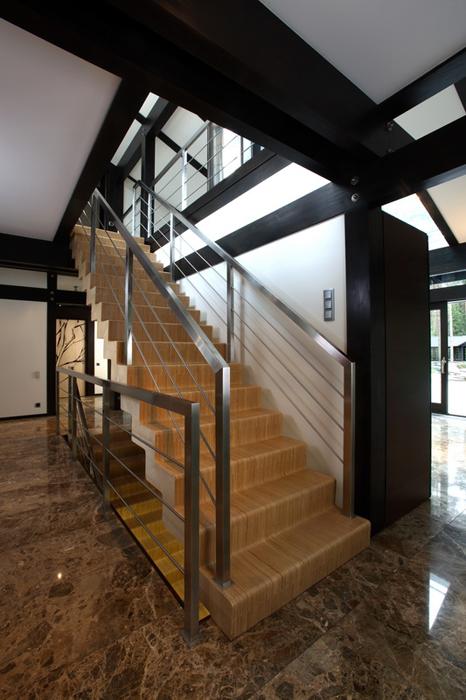 Дизайн деревянных лестниц