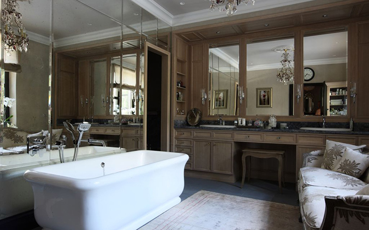 Загородный дом. ванная из проекта , фото №26345