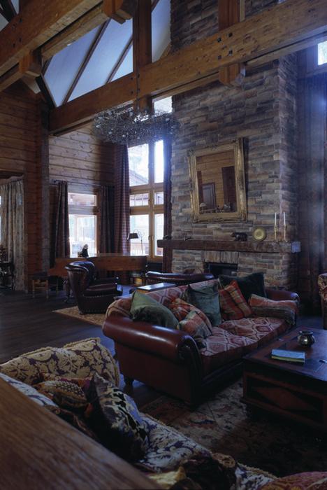 Фото № 26477 гостиная  Загородный дом