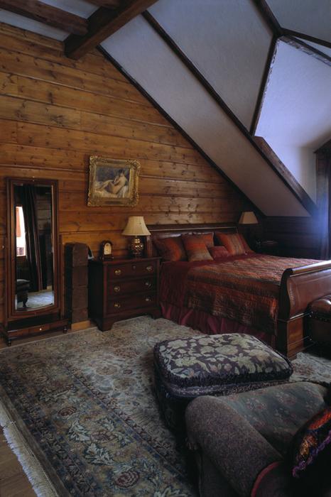 Фото № 26493 спальня  Загородный дом