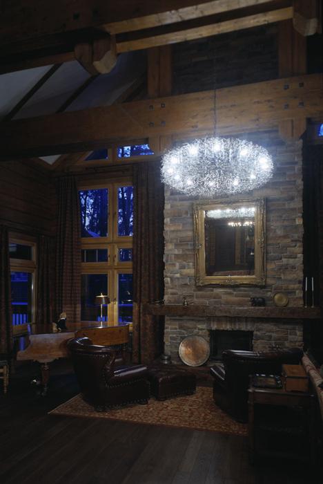 Фото № 26480 гостиная  Загородный дом