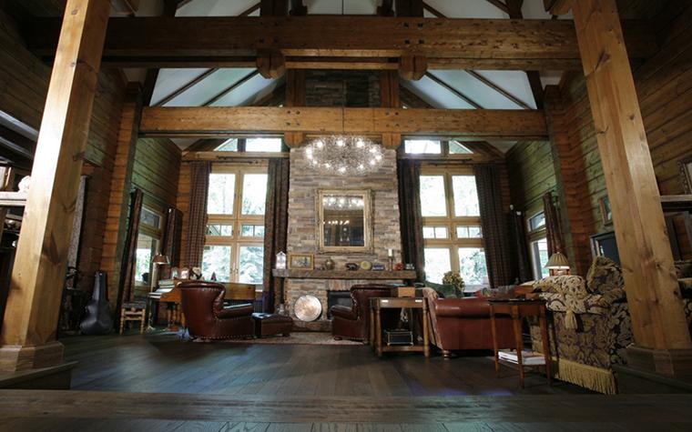 Фото № 26478 гостиная  Загородный дом