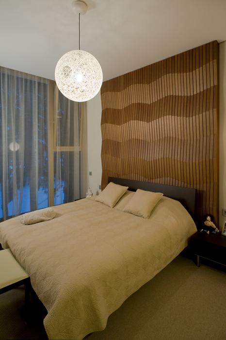 Фото № 26635 спальня  Загородный дом