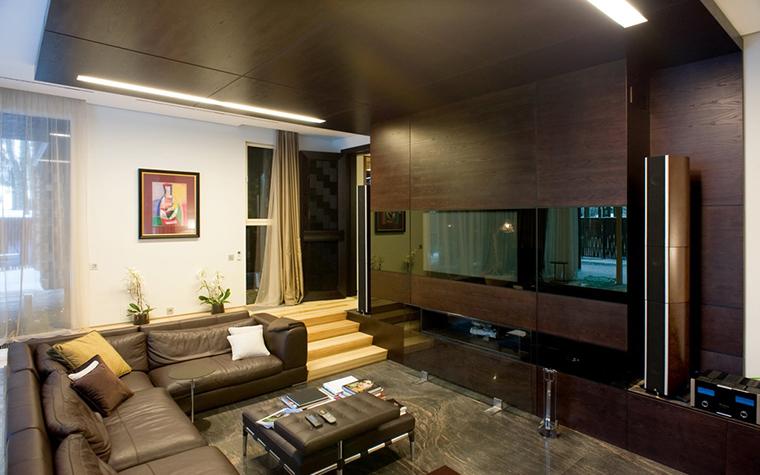 Фото № 26614 гостиная  Загородный дом