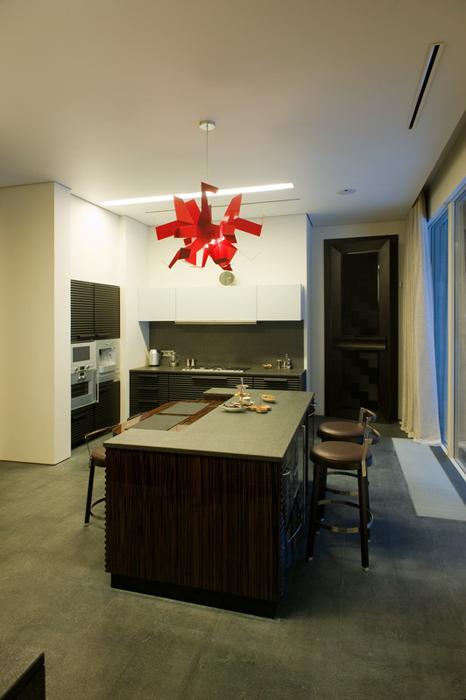 Фото № 26622 кухня  Загородный дом