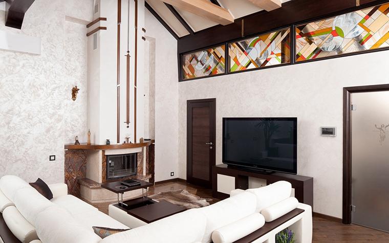 Загородный дом. гостиная из проекта , фото №26716
