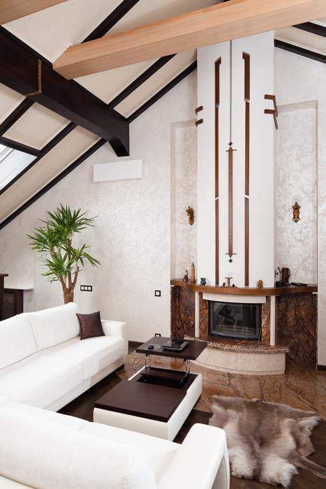 Загородный дом. гостиная из проекта , фото №26717