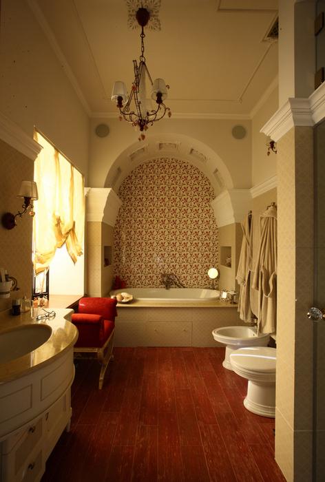 Фото № 26822 ванная  Загородный дом