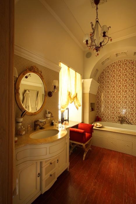 Фото № 26823 ванная  Загородный дом
