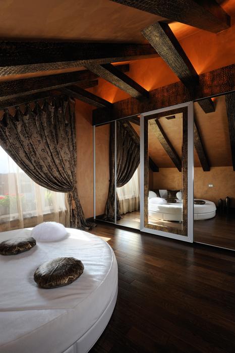Загородный дом. спальня из проекта , фото №26865