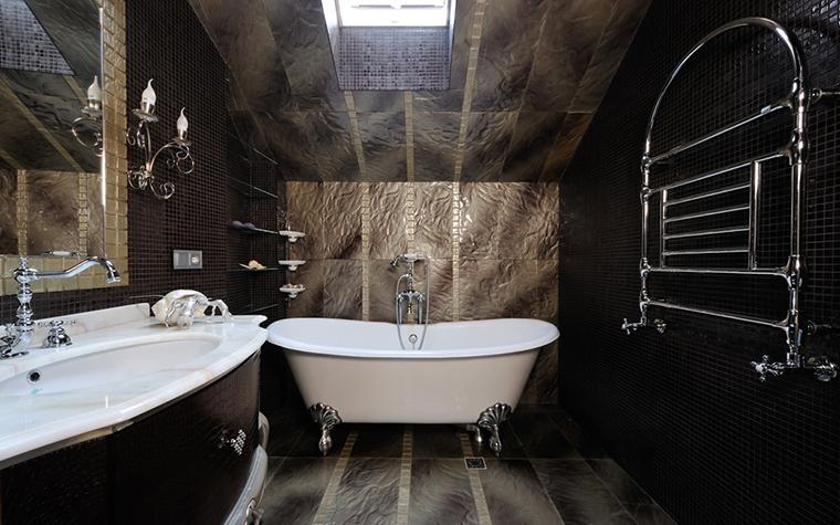 Загородный дом. ванная из проекта , фото №26871