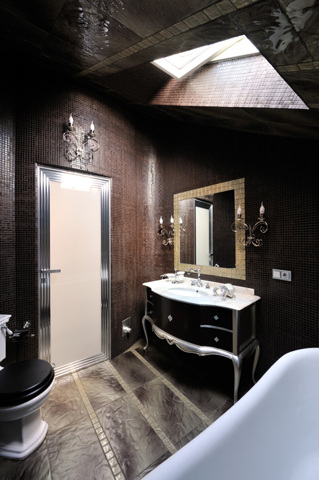 Фото № 26872 ванная  Загородный дом