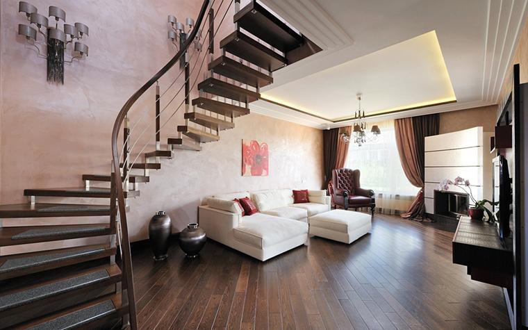 интерьер гостиной - фото № 26858