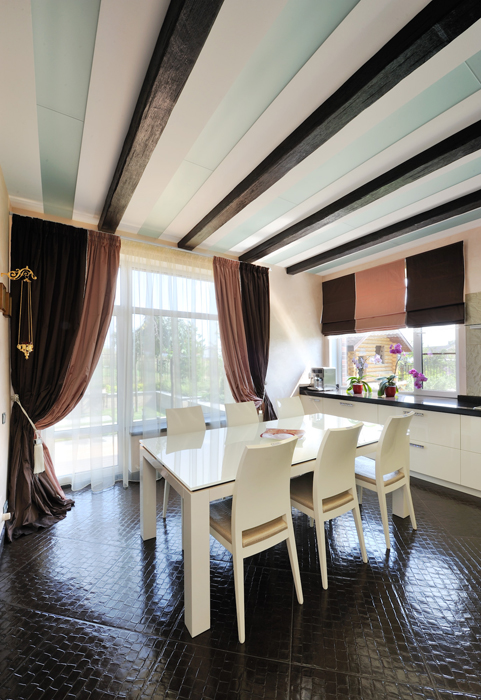 Фото № 26870 кухня  Загородный дом