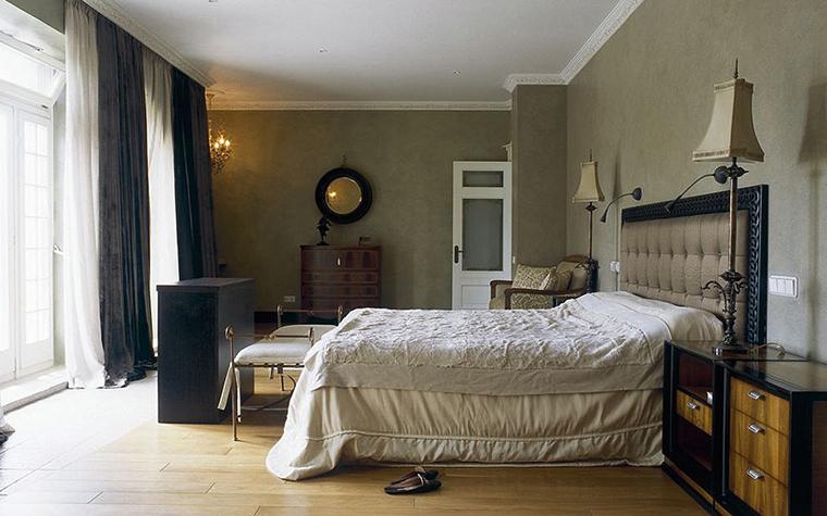 Загородный дом. спальня из проекта , фото №26905