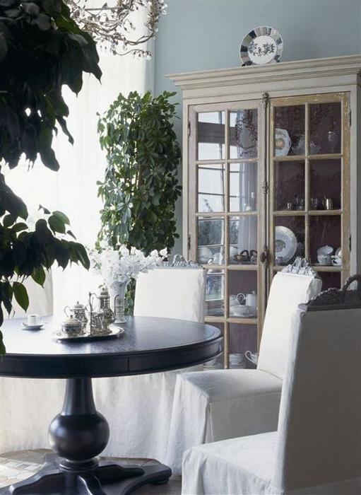 Загородный дом. столовая из проекта , фото №26902