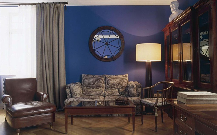 Загородный дом. кабинет из проекта , фото №26906