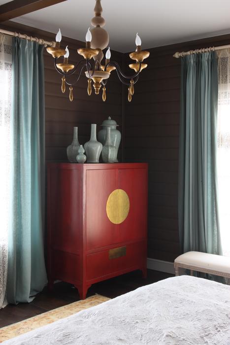 Фото № 26995 спальня  Загородный дом