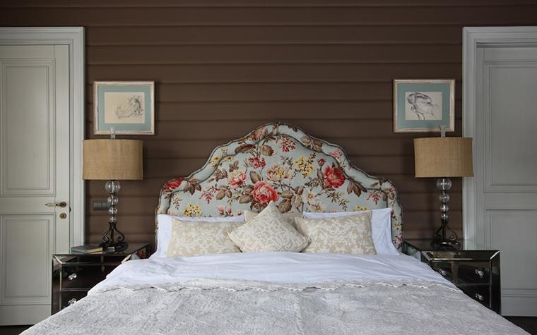 Фото № 26996 спальня  Загородный дом