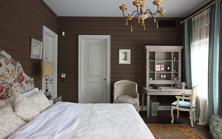 Фото № 26997 спальня  Загородный дом