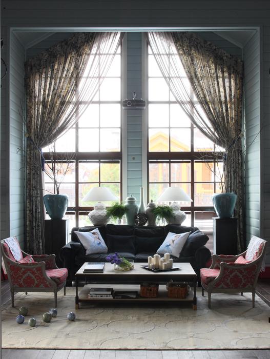 интерьер гостиной - фото № 26982