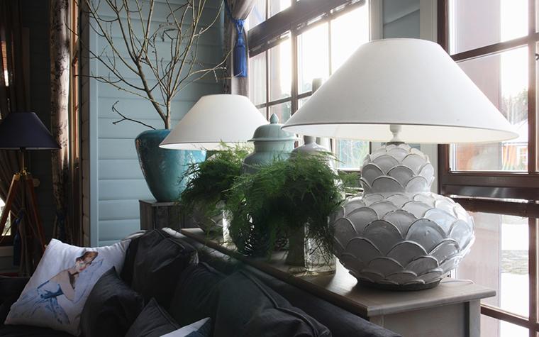интерьер гостиной - фото № 27015