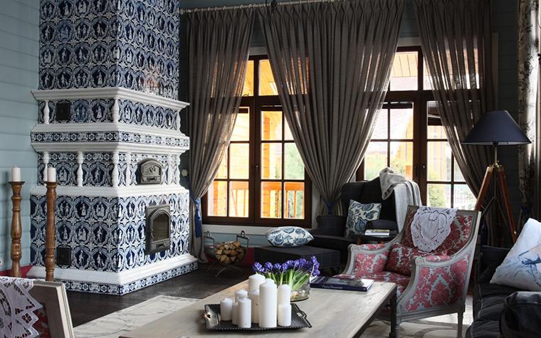 интерьер гостиной - фото № 26984